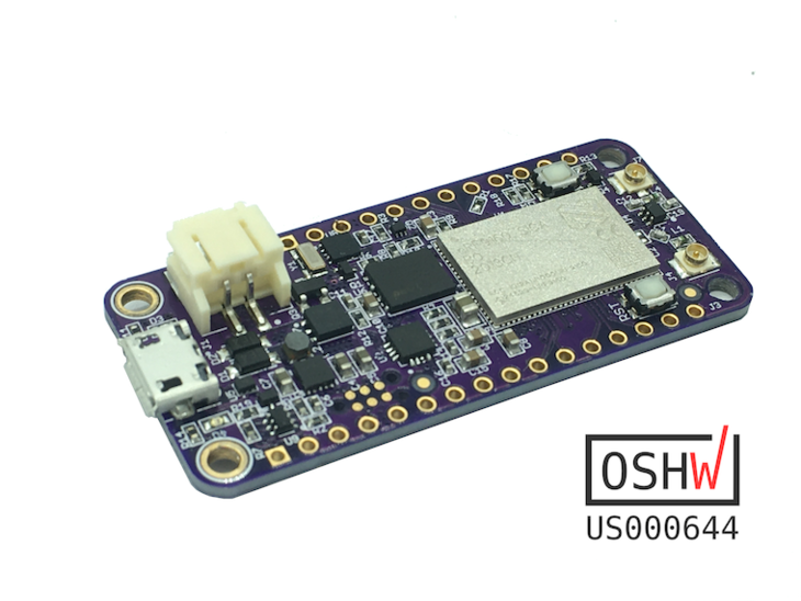 nRF9160 Feather with OSHWA